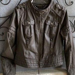 Blanc Noir Premium Brand army green light  jacket